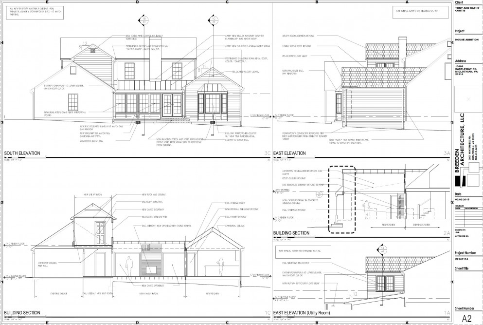pre construction drawings