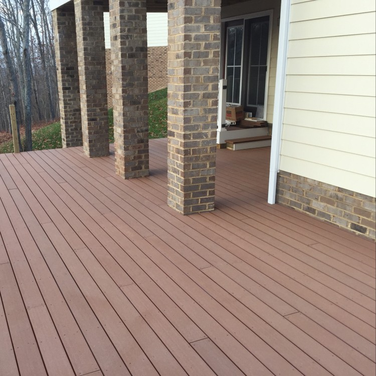 Deck wood planks
