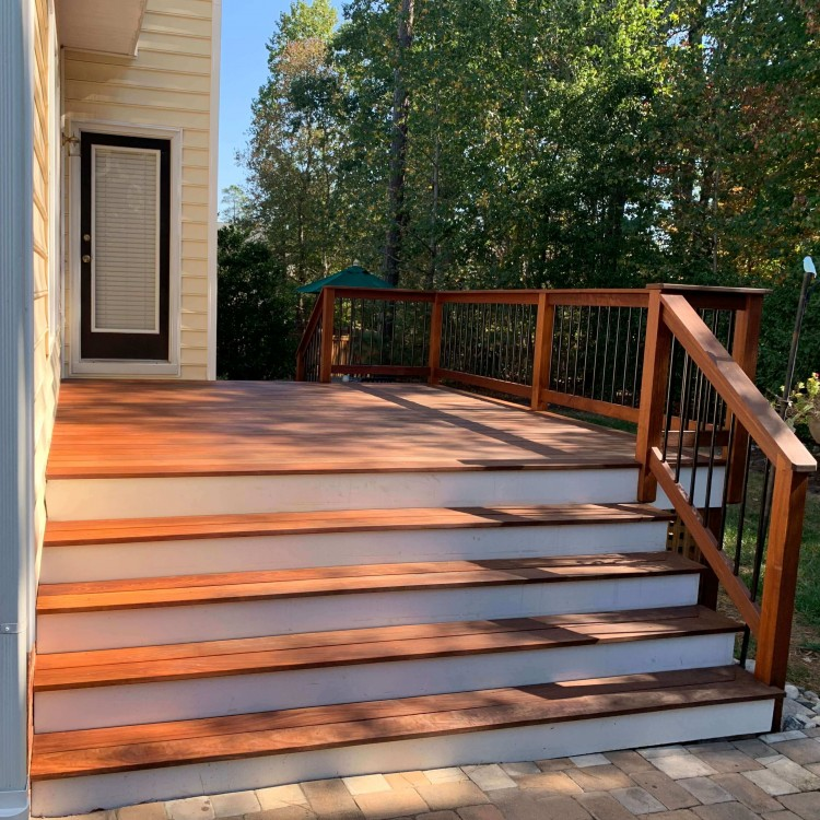 Deck stairs in Richmond VA