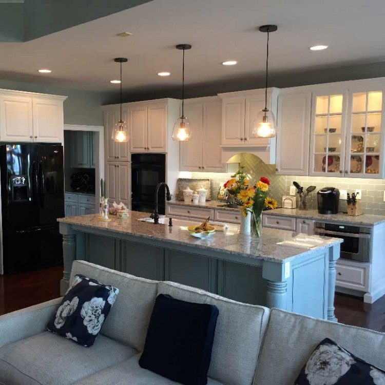 Remodeled kitchen in Richmond VA