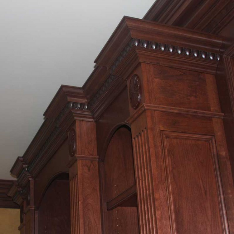 Stain cabinet in a Richmond living room