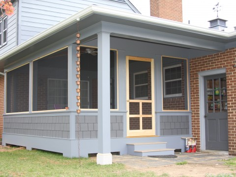 Watkins porch front view