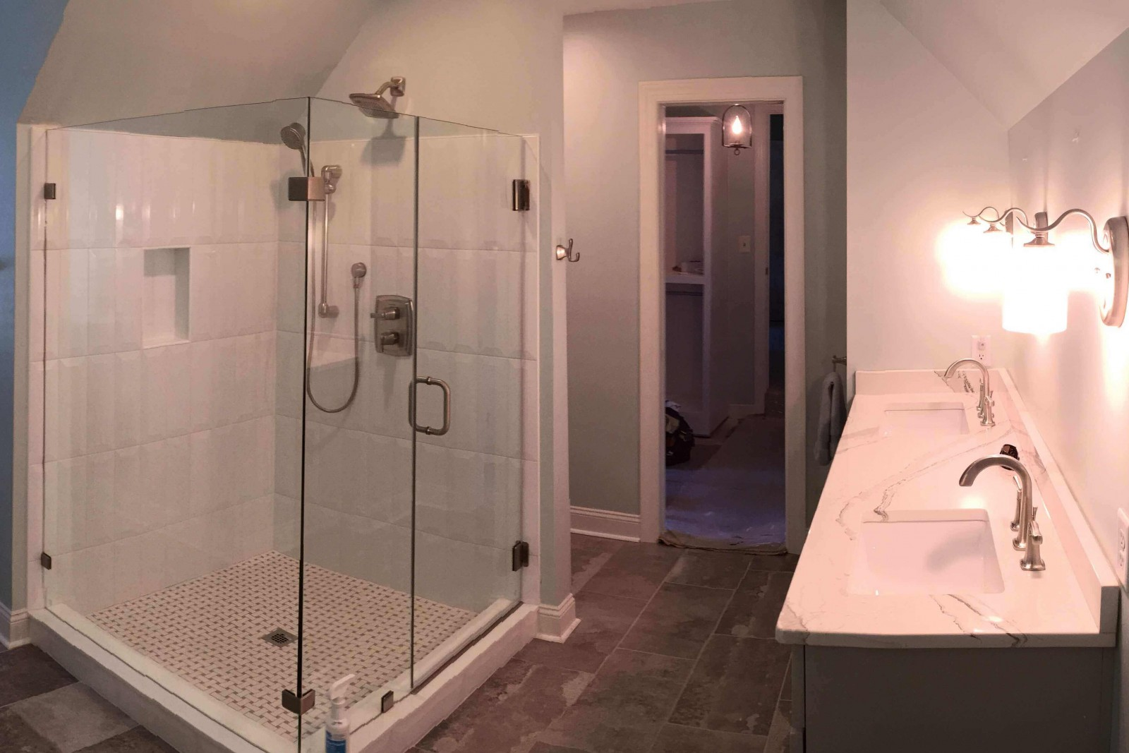 Bathroom remodeled in Richmond VA