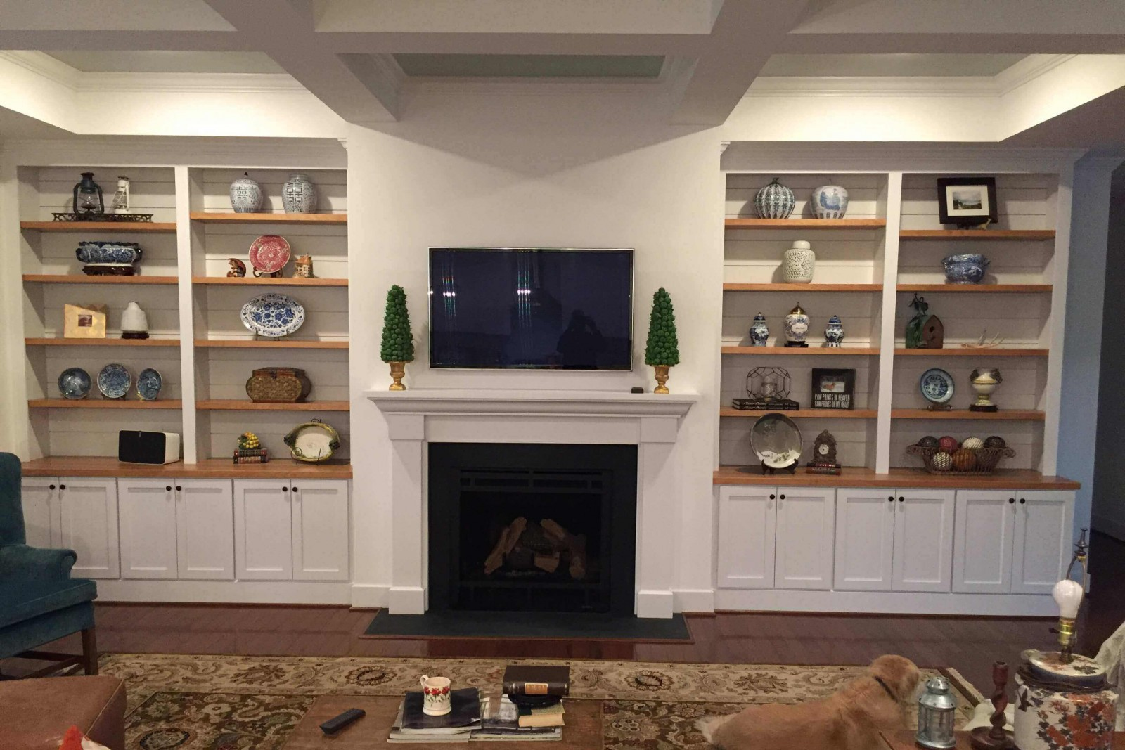 Custom Bookcases in Richmond VA