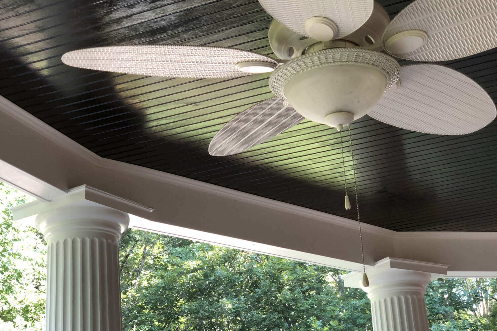 Patio ceiling in Richmond VA